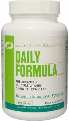 Universal Nutrition Daily Formula, 100таб
